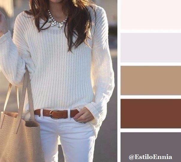Combinamos colores...  Parece algo tan sencillo, pero cuantas veces nos ha dado dolores de cabeza a la hora de elegir y combinar nuestras prendas para crear un look perfecto...
