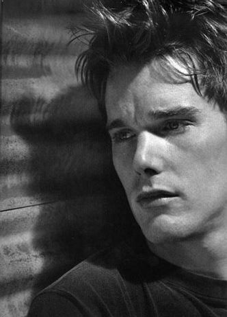 Ethan Hawke. I super loved him in Dead Poets and Reality Bites. Where is he now?! And I wonder if he's still hot...