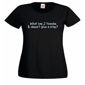 a ropa quirurgica what has 2 thumbs gracioso camiseta ajustada para dama