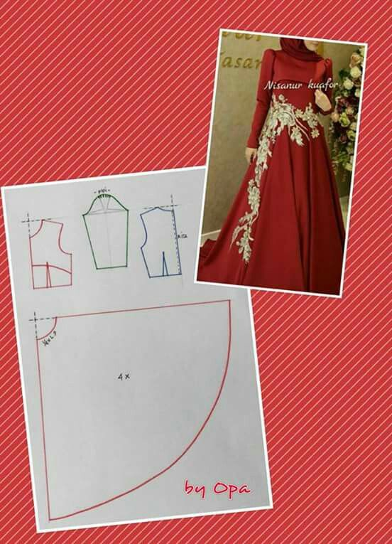 Elegant dress 4 muslimah