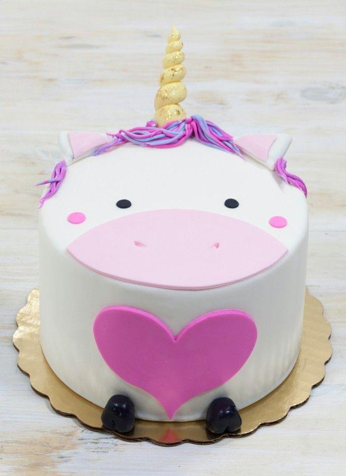 Bildergebnis Fur Geburtstagskuchen Madchen Einhorn Einfach Kuchen