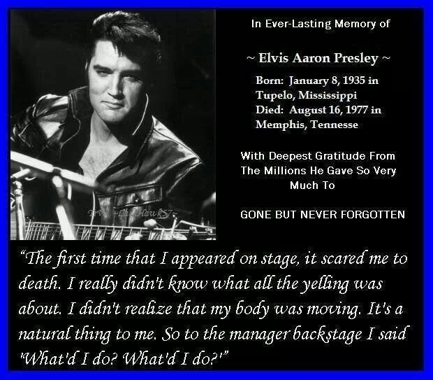 Famous Elvis Quotes: 55 Best Images About The King ELVIS PRESLEY- Quotes