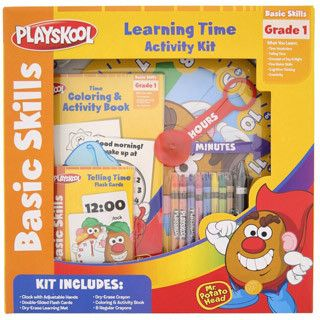 Playskool Learning Time Activity Kit with Mr Potato Head