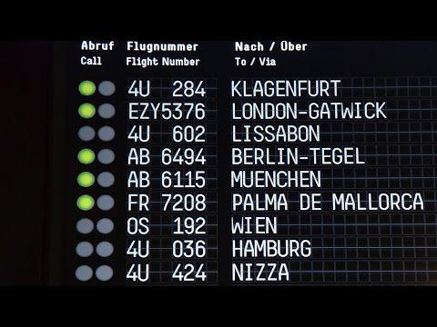 Video: Flughafen Köln-Bonn setzt bei Anzeigetafeln auf Retro-Design | traveLink