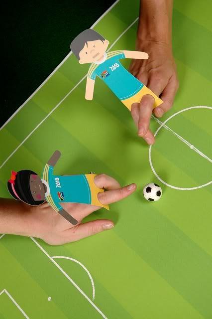 Finger puppet soccer game.  Facebook: facebook.com/FloridaYouthSoccer  Twitter: @FYSASoccer  Website: www.fysa.com