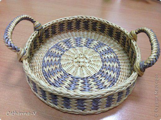 Поделка изделие Плетение Мой дебют в СМ Бумага Бумага газетная фото 1