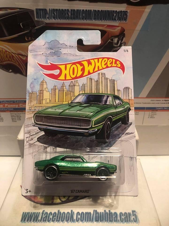details about hot wheels detroit muscle '67 camaro walmart exclusive