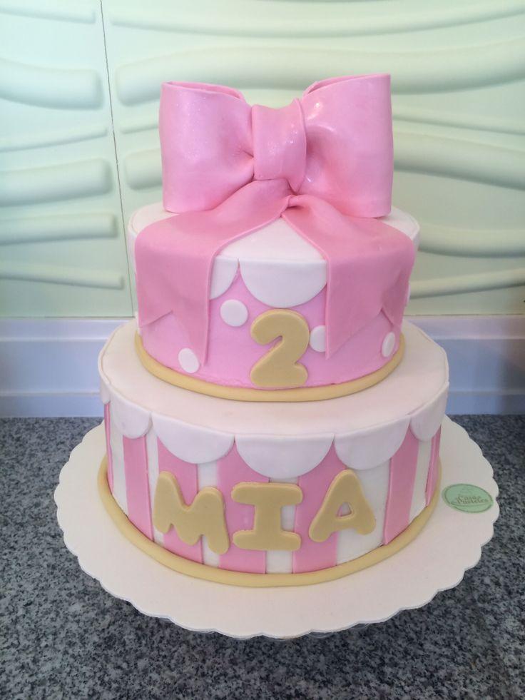 pastel para cumpleaos nia