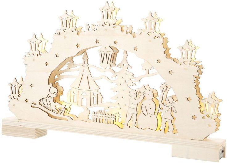 LED Lichterbogen beige, »Winter in Seiffen«, yourhome Jetzt bestellen unter: https://moebel.ladendirekt.de/weihnachten/weihnachtsdeko/?uid=071ce597-df5c-5b97-8d3a-d0a648271200&utm_source=pinterest&utm_medium=pin&utm_campaign=boards #weihnachten #lichterbogen #weihnachtsdeko #led