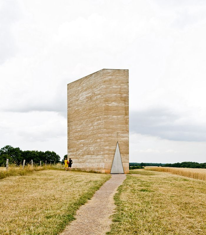 Chapelle Bruder Klaus Field, Mechernich, Allemagne, par Peter Zumthor
