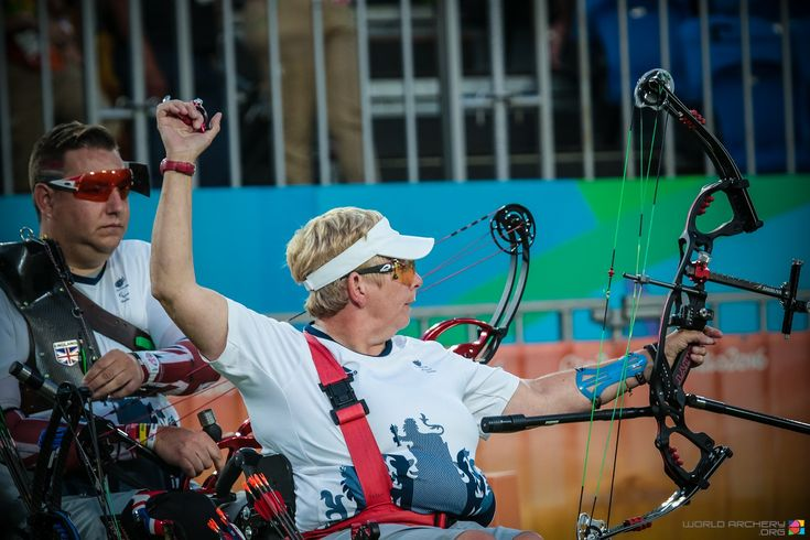 Great Britain tops medal table with W1 mixed team win. #paralympics #rio2016