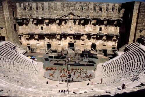 Aspendos Theatre - Antalya region, Southern Turkey