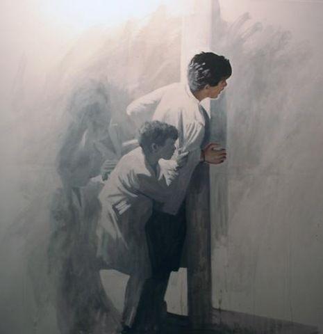 """""""Descubrimiento"""" de Claudio Gallina, pintor argentino"""