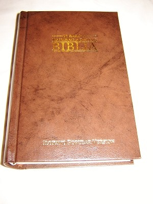 Ilokano Bible / Ti Baro A Naimbag A Damag Biblia / Brown Hardcover New Ilokano Popular Version Bible