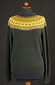 Beautiful example of Bohus Knitting.