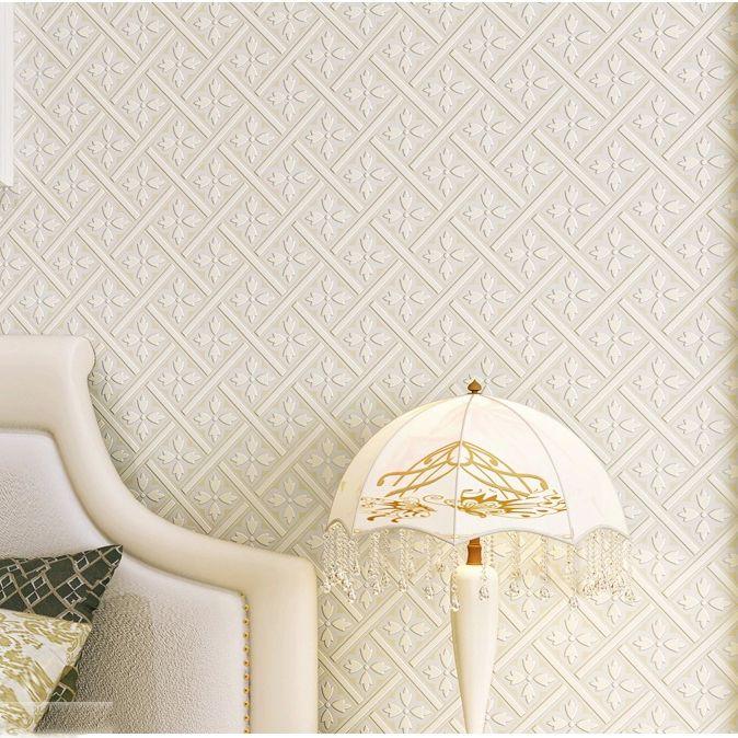 6247 luxo alta qualidade geom trico moderno tartan papel for Papel pared moderno