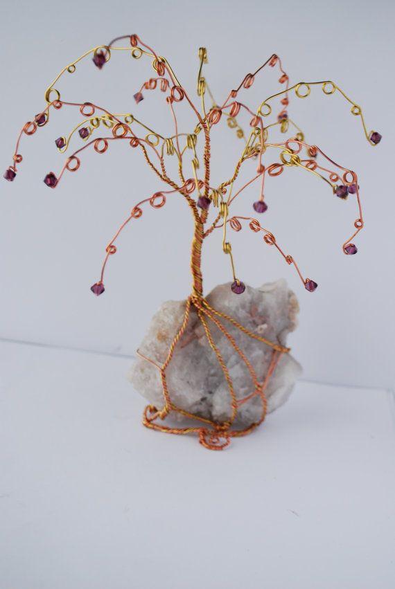 Copper Br Wire Earring Tree Display By Northerntwistedart Sold Birthstone Trees Earrings