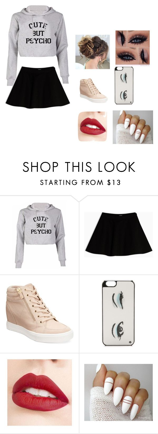 """Untitled #29"" by moriartylauren on Polyvore featuring Max&Co., ALDO, Kate Spade and Jouer"
