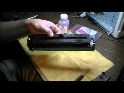 Vídeo Recarga Toner HP CE320A | 128A | CM1415FN | CP1525NW - Vídeo Aula Valejet.com - YouTube