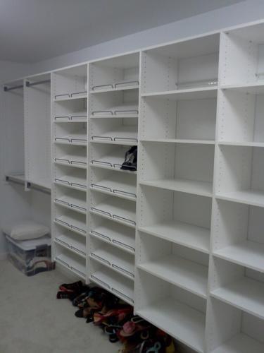 My New Closet System! Martha Stewart At Home Depot. LOVE LOVE LOVE. Now