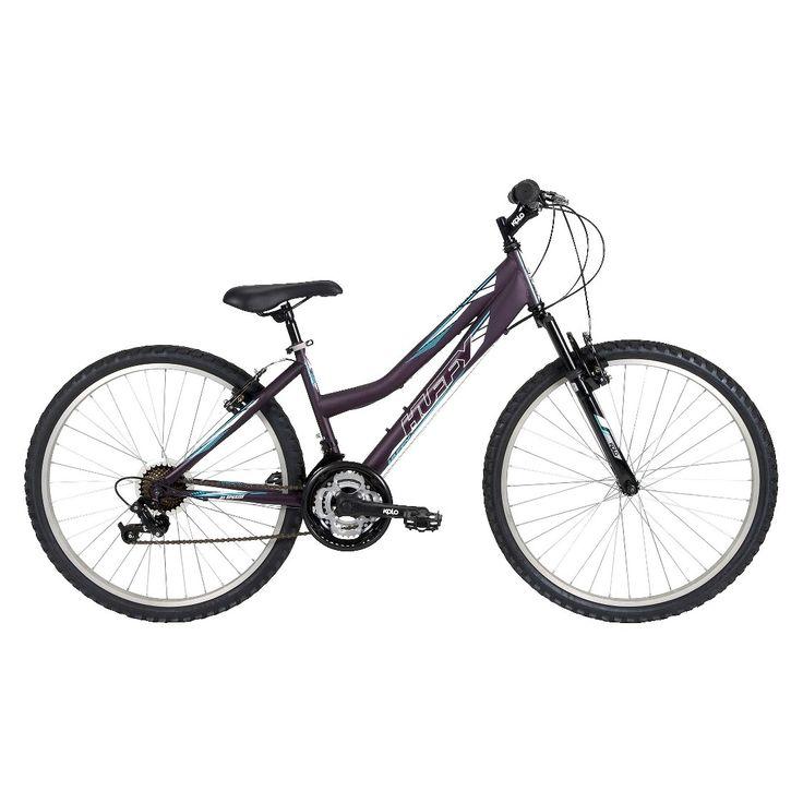 "Huffy Tundra 26"" Ladies' All-Terrain Bike - Dark Purple"