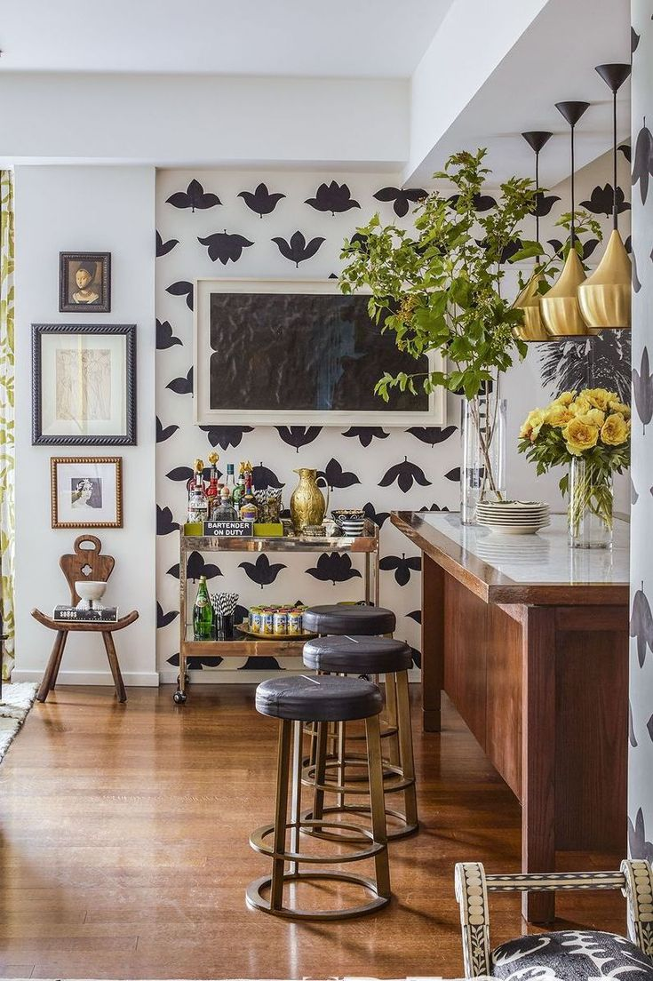 Gorgeous Kitchen Wallpaper Ideas You Have to See   Kitchen design ...