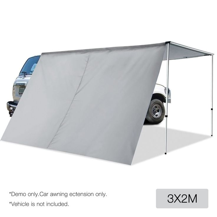 Weisshorn 2x3M Side Awning Extension For Car Vehicle Roof ...