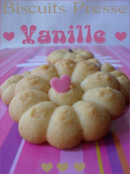 Biscuits à la vanille avec presse à biscuits 1