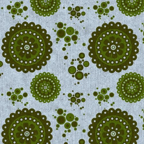 Doily lace discs pattern I created on Patterncooler.com - Have fun with this easy-to-use yet powerful free resource applying your own colors and textures to 10,000s of beautiful downloadable pattern designs. Whether you are a professional designer or just someone wanting a new background for your twitter profile, you may be very glad you stumbled on this unique project by Harvey Rayner