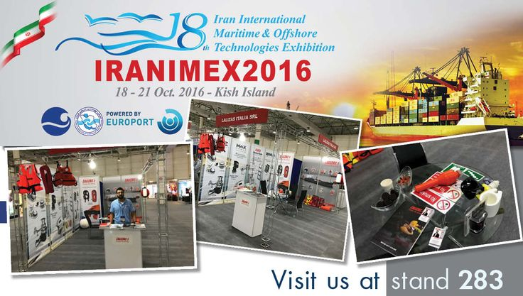 IRANIMEX 2016 at Kish Island, Iran!