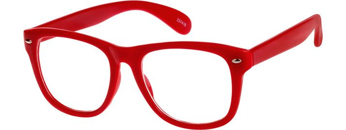 Order online, unisex red full rim acetate/plastic square eyeglass frames model #237418. Visit Zenni Optical today to browse our collection of glasses and sunglasses.