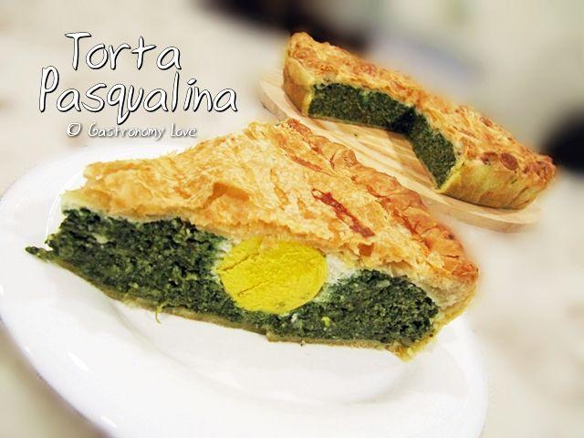 La torta Pasqualina è una torta salata a base di spinaci, formaggio e uova tipicamente preparata il giorno di Pasqua in Liguria.