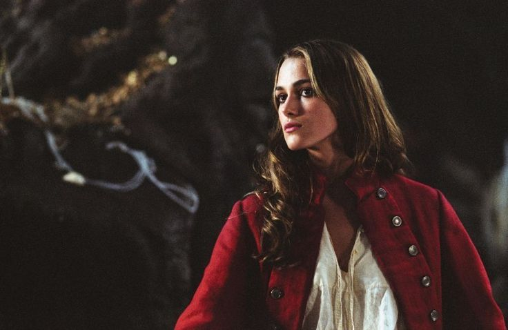 Elizabeth Swann (Keira Knightley) ' Pirates of the Caribbean: At World's End'…