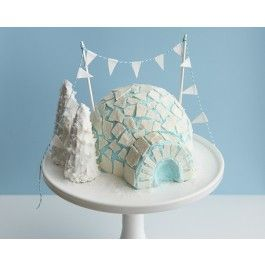 How To Make An Igloo Cake  | CAKEGIRLS