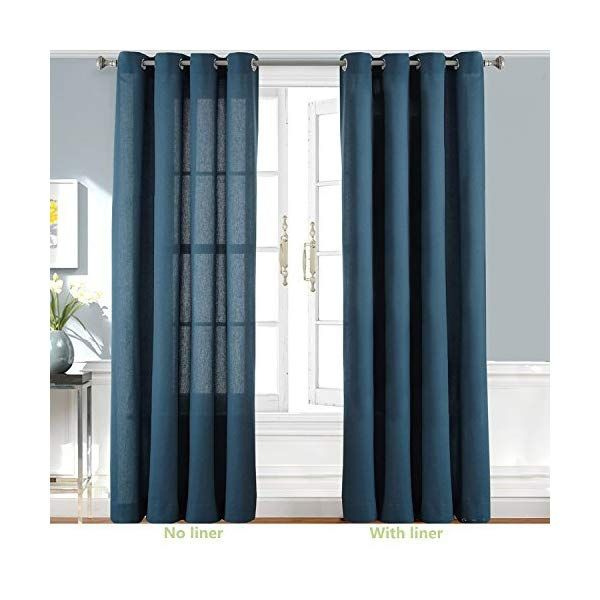 Driftaway Thermal Insulated Blackout Curtain Liner For Grommet 84