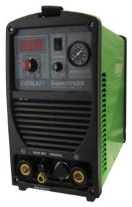 The Everlast SuperUltra 205 3-in-1 Plasma Cutter TIG ARC Welder Stick 200A – High Frequency and Contact Start: Internal High Speed Cooling Fan to Regulate Temperature. Unit has built in Thermal and Overload ProtectionEverlast MultiPro 205. 3 in 1 Inverter Welder with Pilot Arc Plasma Cutter. DUAL VOLTAGE/ Tig 200a / Stick 200a /Cutter 50a