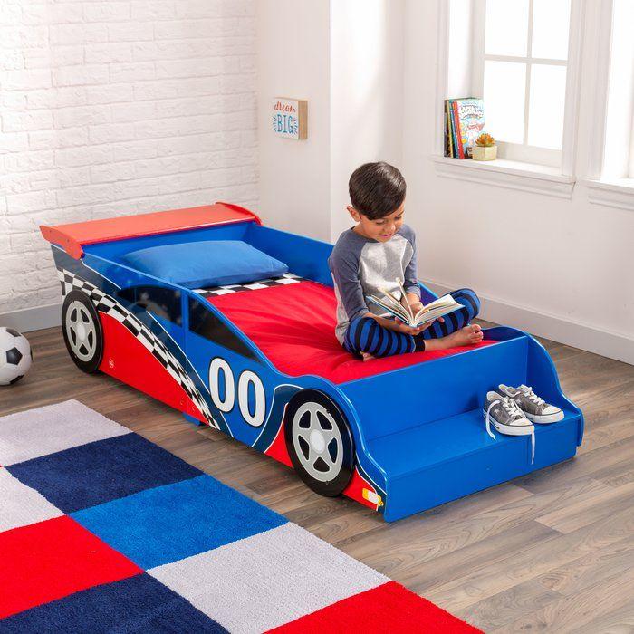 Racecar Toddler Car Bed