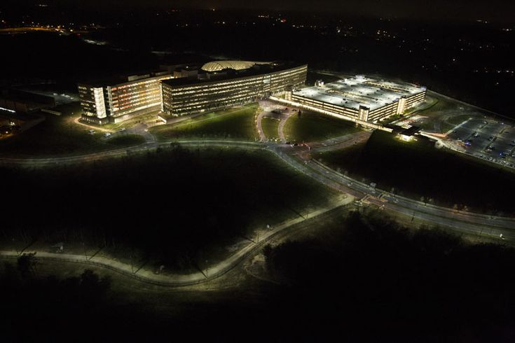 National Geospatial-Intelligence Agency (NGA): The NGA is responsible for collecting, analyzing and distributing intelligence derived from maps and imagery. According to documents provided by Edward Snowden, the NGA's budget request was $4.9 billion last year – more than double its funding a decade ago. It is headquartered in Springfield, Virginia; Photo by Trevor Paglen