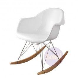 Replica Eames RAR Rocking Chair - Fiberglass
