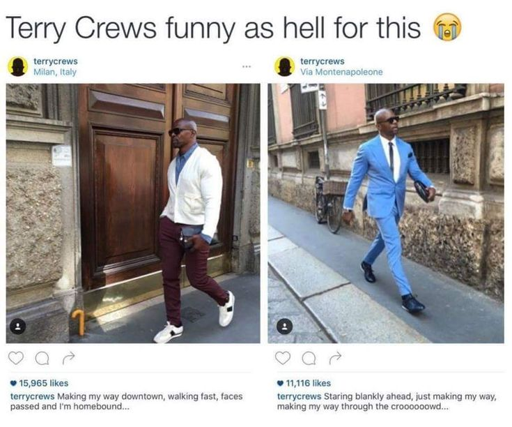 Terry Crews is a national treasure.