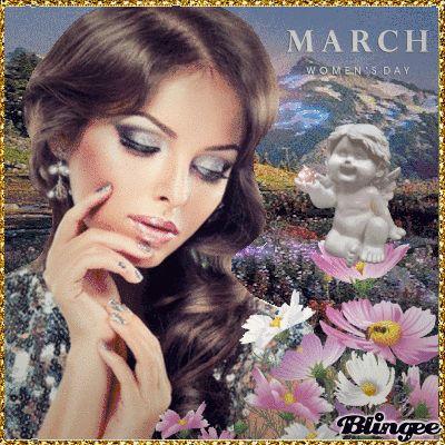 On the International Women's Day on March 8, dear friends!