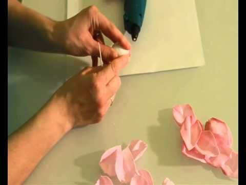 Как создать розу из фоамирана без специальных инструментов за 1 час