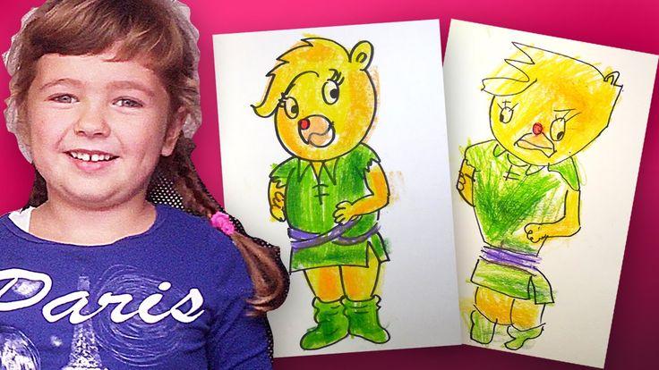 Как нарисовать Солнышко из Мультика Мишки Гамми | Урок рисования для дет...