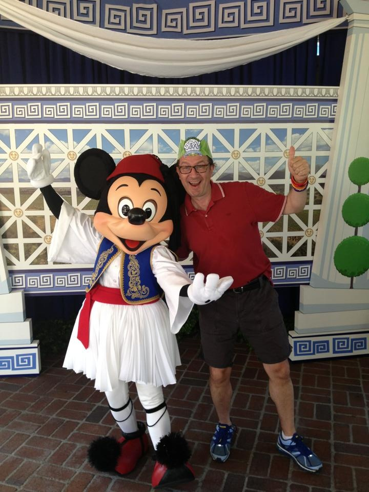 Another accomplishment of the Greek America Foundation... Transforming the Happiest place on earth Greek for an entire weekend where hundreds of thousands of people experienced Greek food, culture, music and dance. And yes... Mickey the Evzone. Epic and historic.