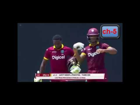 pakistan vs west indies - series 2017