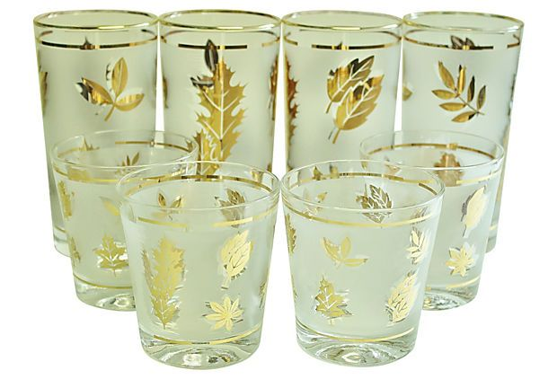 Midcentury Bar Glasses