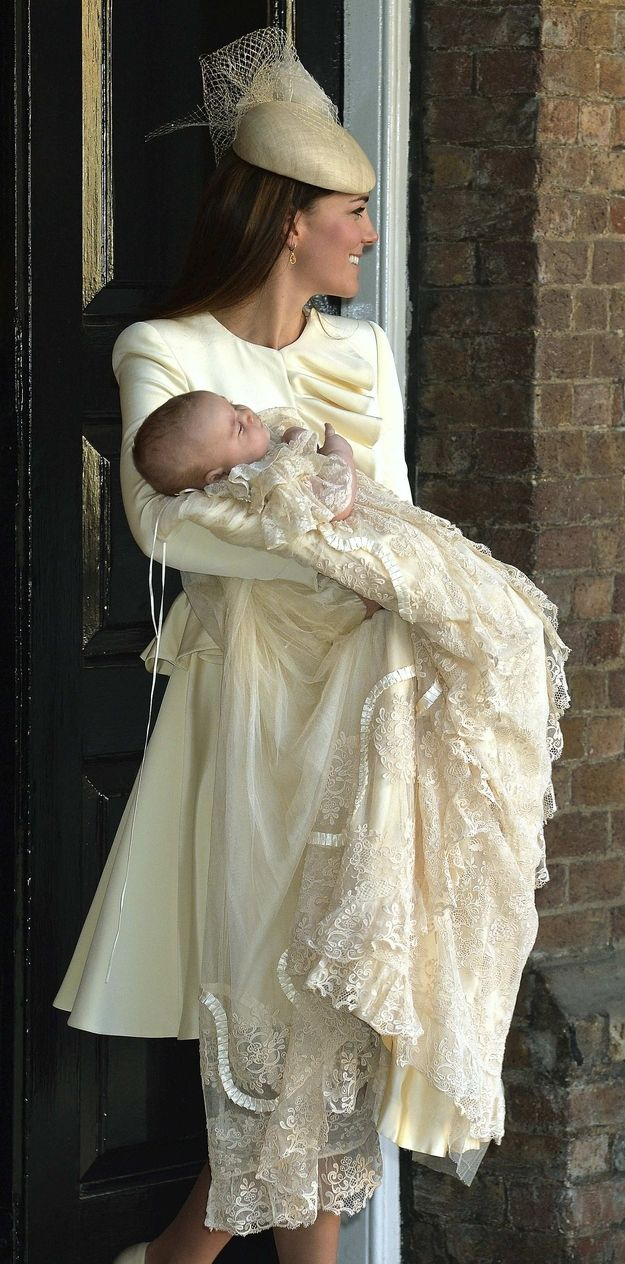 Royal Family Gathers For Prince George's Baptism!