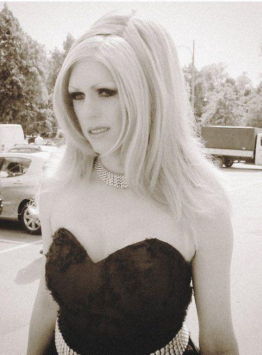 Black & white Gretchen #model #photoshoot #pride #gretchen #blonde