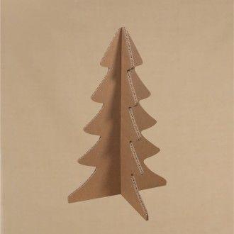 ABETO NAVIDAD CARTÓN 4 CARAS Árbol de Navidad de cartón tricapa, diseñado exclusivamente para esta web, de 1 cm de grosor y con cuatro caras. Puede decorarse con todo tipo de pinturas, collage, pan de oro, purpurina, arenas de colores, rotuladores, ceras de colores, esprays, ... #MWMaterialsWorld #ChristmasTree #ArbolNavidad