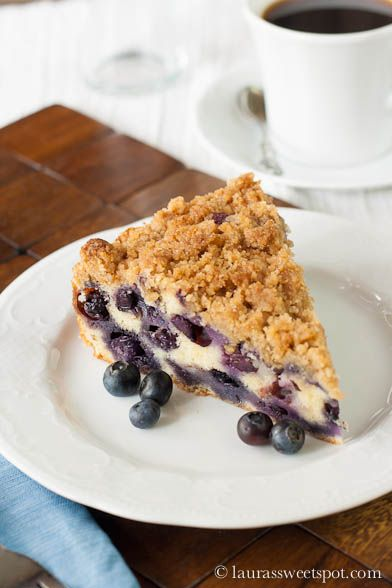 blueberry buckle - Cook's Illustrated recipe